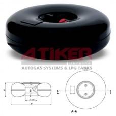 Картка Балон тороідальний внутрішній ATIKER, 59L, 630х240  фірми Atiker