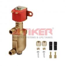 Газовый электроклапан с фильтром Атикер 12008 Супер