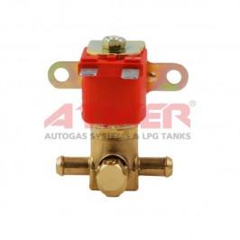 Электроклапан бензина ATIKER 1226 (латунь)