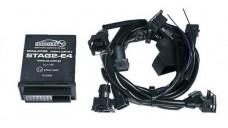 Универсальный эмулятор выключения бензиновых форсунок STAG 2 E4/U, под 4 адаптера