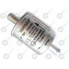 Certools F781 - фильтр тонкой очистки газа 1 вход – 1 выход 12 мм