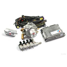 Иллюстрация Миникомплект BRC Plug&Drive MY10 (4 цилиндра) BOXER, до 120 kW компании BRC Gas Equipment