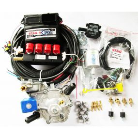 Фотография Миникомплект STAG-4 Q-BOX BASIC (4 цилиндра), до 175 kW торговой марки STAG