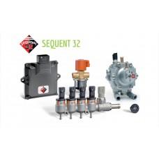 Фотоснимок Миникомплект BRC Sequent 32 (4 цилиндра), до 120 kW компании BRC Gas Equipment