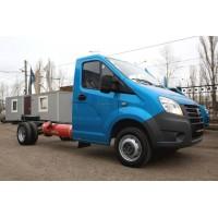 Серийная ГАЗель-Next с битопливным пропан+бензин двигателем Evotech
