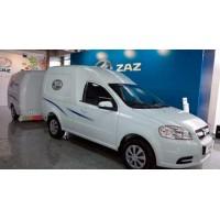 Запорожский автомобилестроительный завод показал ГБО фургон VIDA