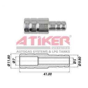 Фотознімок Тосольний перехідник 12x10 (метал) ATIKER до шлангу антифризу  виробника Atiker