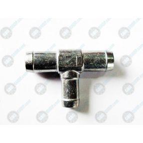 Фотографія Трійник тосольний 16-20-20 алюміній Atiker  ТМ Atiker