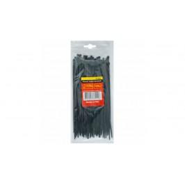 Стяжка-хомут пластиковый черн 4,8*250 (100 шт)