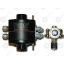 Газовый пропановый редуктор KME TWIN ver.2 для инжекторных систем поочередн..